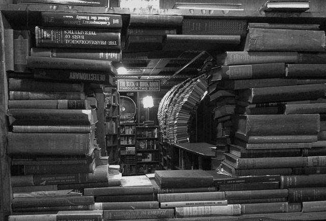 tunnel of books