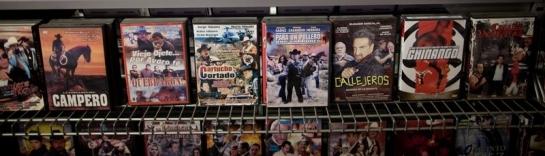 Peliculas Narco en una tienda en Austin